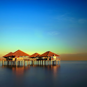 A quiet morning by Anta Abine Hiro - Landscapes Waterscapes ( landscape )
