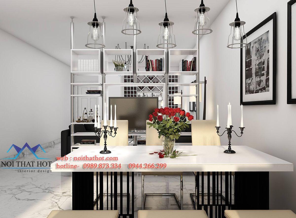 thiết kế phòng ăn chung cư