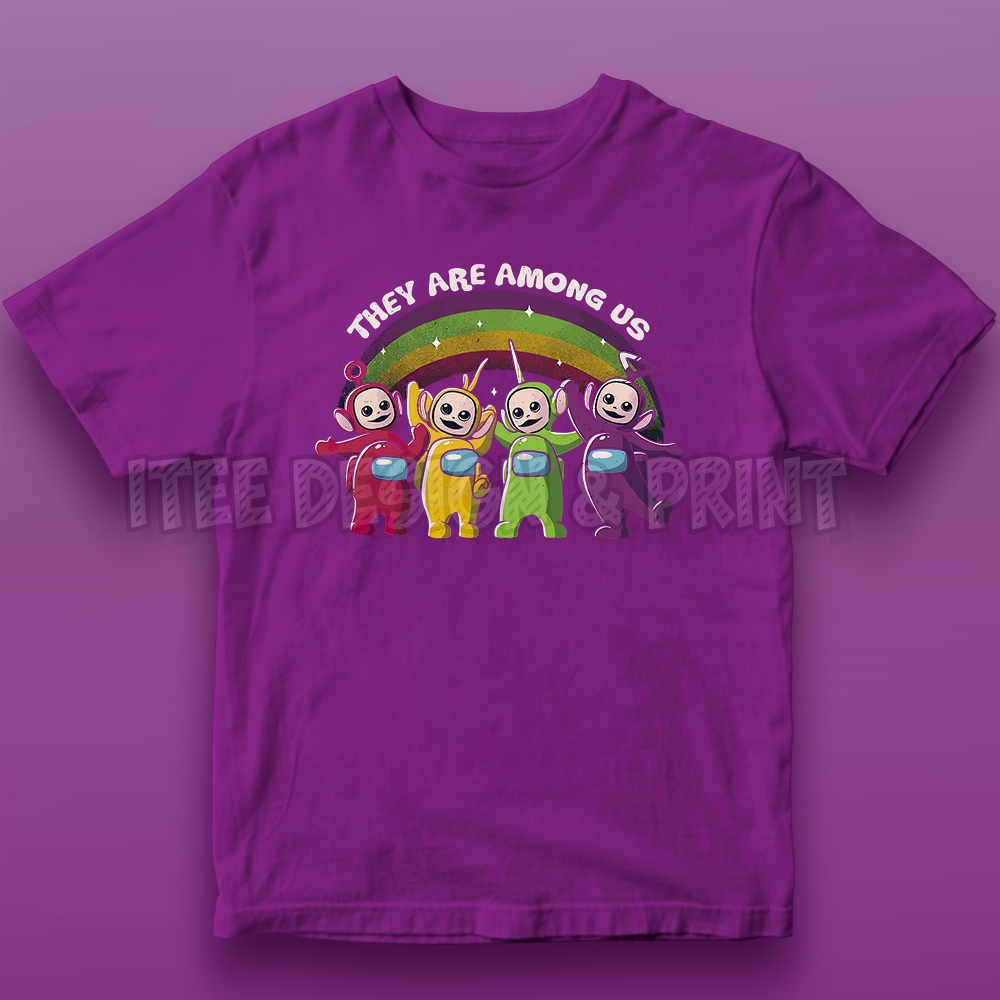 They Are Among Us Funny Teletubbies Game Impostor 9