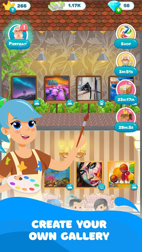 Code Triche Paint Stories: Coloring Book & Decor APK MOD screenshots 1