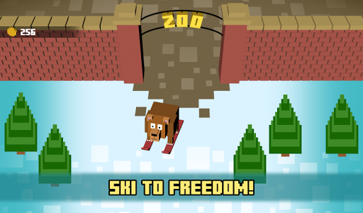 Zoo Skiing - Crossy Slopes! screenshot 8