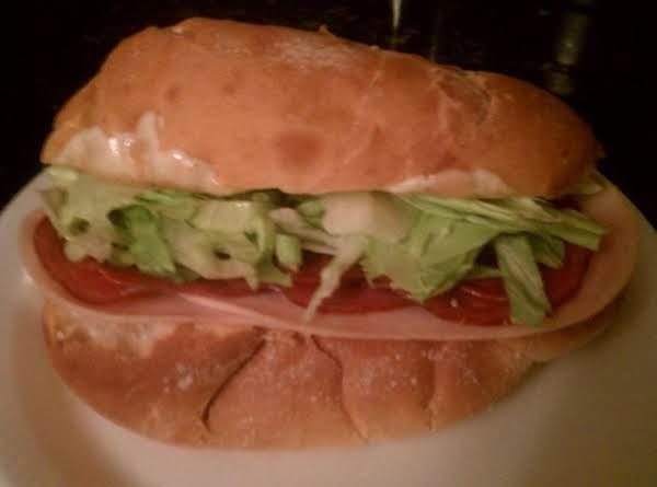 Quick And Easy Italian Sandwich! Recipe