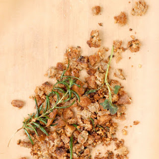 Gluten-Free Garlic-Herbed Breadcrumbs