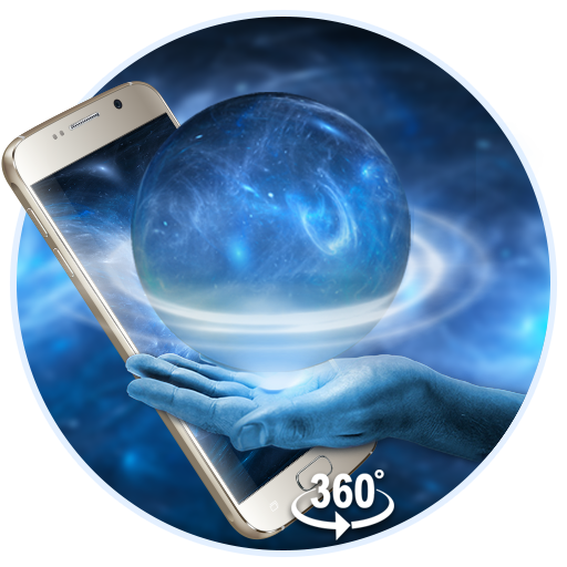 Space Galaxy 3D live wallpaper (VR Panoramic)