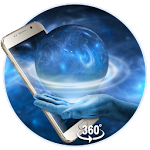 Space Galaxy 3D live wallpaper (VR Panoramic) Icon