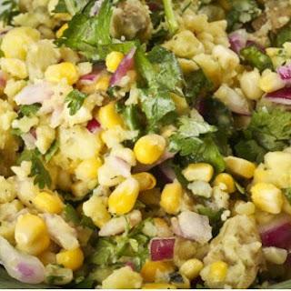 Sweet Corn & Herbed Potato Salad