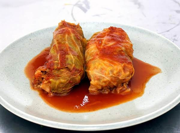 Angie's Stuffed Cabbage Recipe