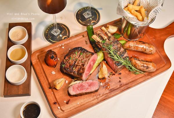 Simply 炙烤餐廳酒吧  台中西區 高檔牛排約會餐廳 獨家乾式熟成牛肉 保留肉汁且柔軟有彈性