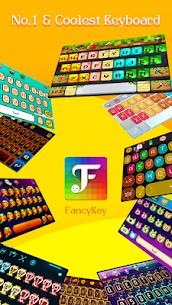 FancyKey Keyboard – Cool Fonts, Emoji, GIF,Sticker 3