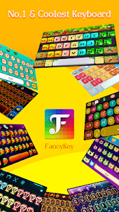 FancyKey Keyboard - Cool Fonts, Emoji, GIF,Sticker Screenshot