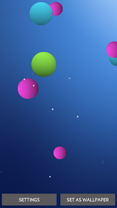 Colorful Bubble Live Wallpaper screenshot 3