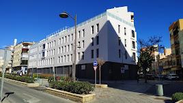Edificio culminado en la Avenida de Vilches