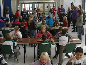 Photo: Schooldamtoernooi gemeente Velsen. 16 November 2011.