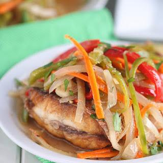 Jamaican Escovitch Fish.