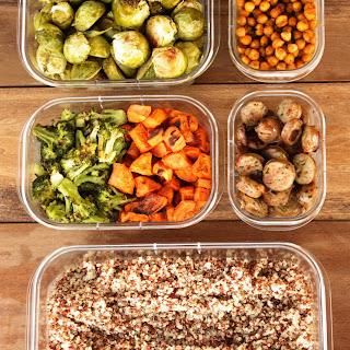 Meal Prep- Quinoa, Veggies, Chicken and Chickpeas Recipe