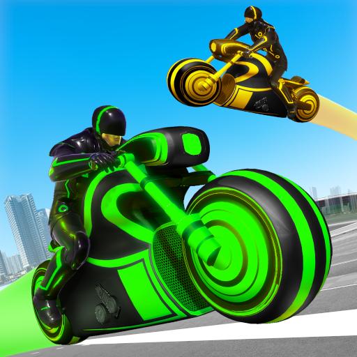 Baixar Light Bike Stunt Racing Game