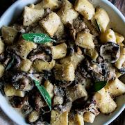 Cheesy Truffle & Mushroom Gnocchi