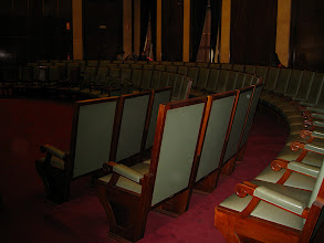 """Photo: UNICEN presentation room. Jason: """"maybe we'll write a constitution today"""". Impressive looking room"""