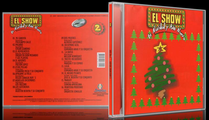 Varios Artistas - El Show De Navidad Y Año Nuevo 2 (2001) [MP3 @320 Kbps]