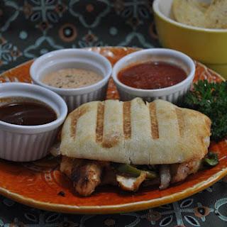 Chicken Fajita Panini with Chipotle Mayo Recipe