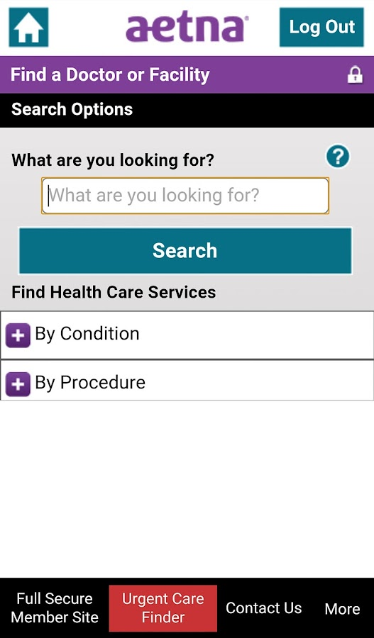 Aetna Mobile- screenshot
