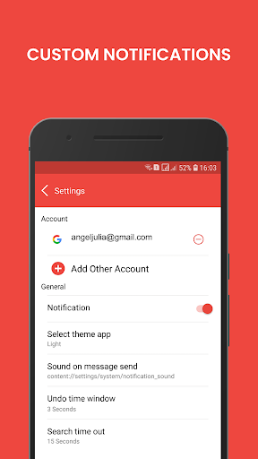 Email - Mail for Gmail Outlook & All Mailbox 3.1 Screenshots 12