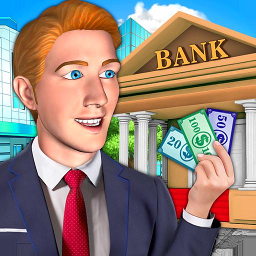 Bank Manager & Cash Register - Kids Game