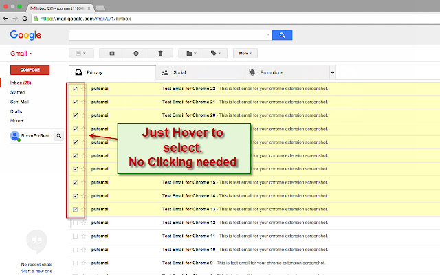 Slick Checkbox for Gmail