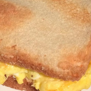 Tom's Scrambled Egg Sandwich