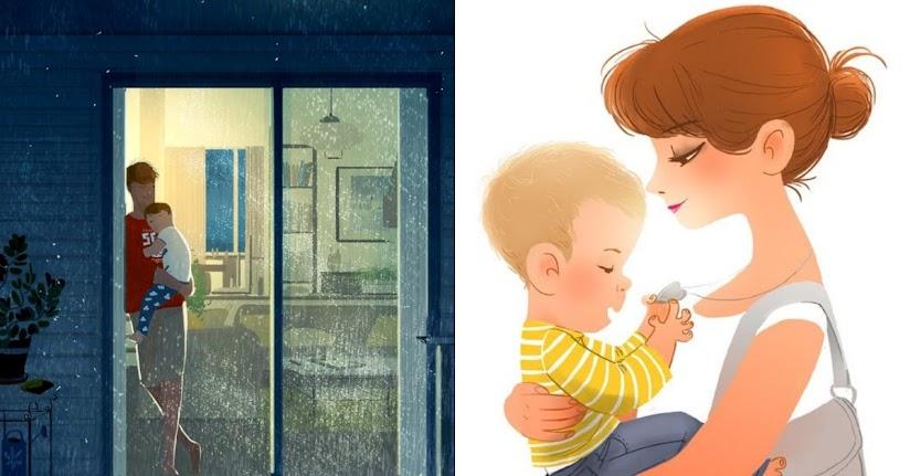 4 lý do con trai cần bố mẹ ôm hơn con gái, khi con trưởng thành sẽ càng ít  cơ hội