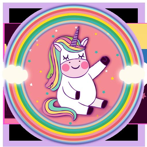 Rainbow Unicorn Anime Launcher