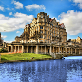 Bath by Roni Bit - City,  Street & Park  Historic Districts ( bath )