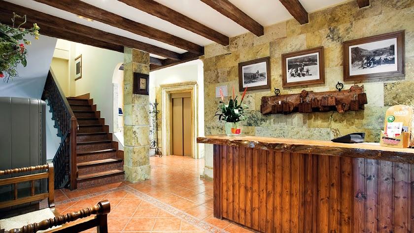 Imagen del interior de uno de los alojamientos rurales de la comarca.
