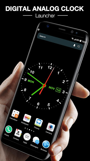 Digital Clock Live Wallpaper release_2379 screenshots 1