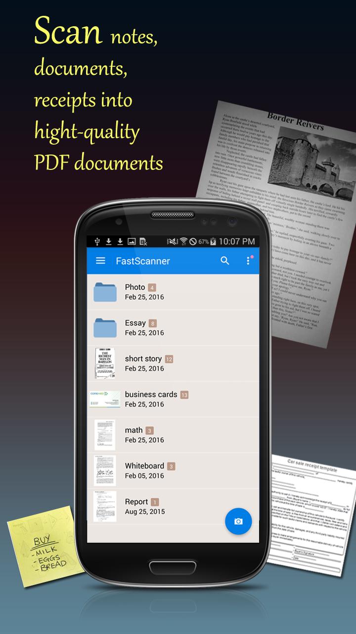 Fast Scanner : Free PDF Scan Screenshot 0
