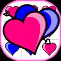 Game Tic Tac Toe XO Love free icon