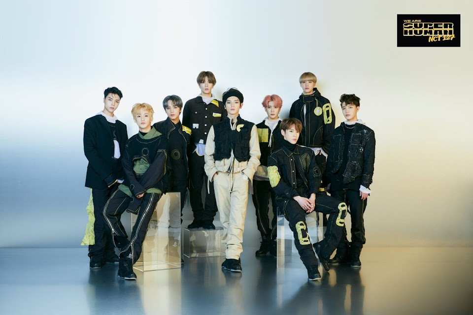 nct 127 super human drop