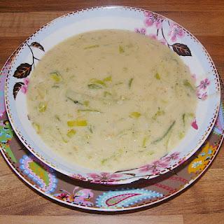 German Mustard Soup Duesseldorf Style.