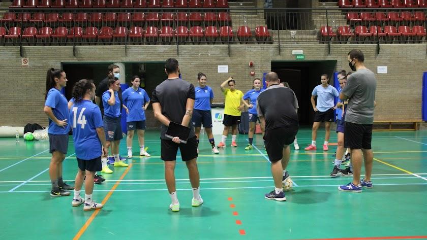 El CD El Ejido Futsal Femenino arranca la temporada.
