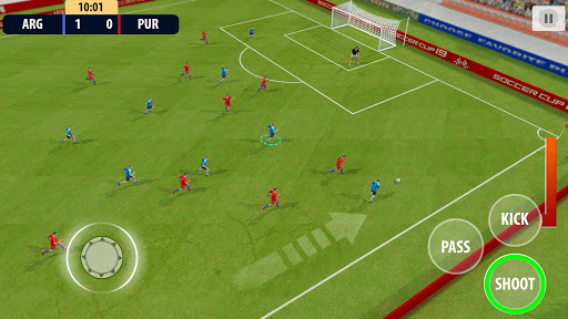 Soccer League Dream 2021: World Football Cup Game apkmr screenshots 5
