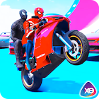 Superhéroes Barrow Bike Stunt Riding icon