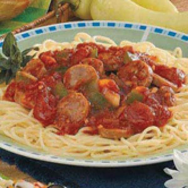 Mama's Italian Pasta Sauce Recipe
