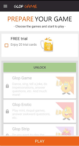 Drinking Card Game - Glop android2mod screenshots 2