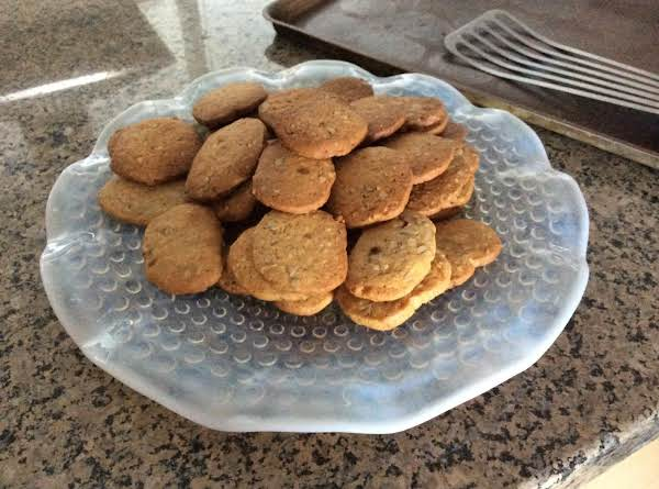 Butterscotch Pecan Refrigerator Cookies