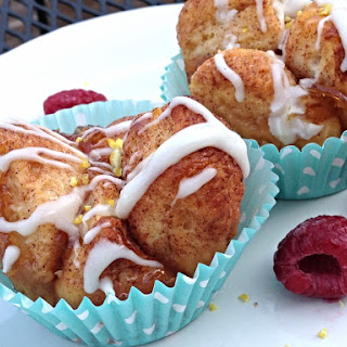 Lem'n Raspberry Monkey Bread Muffins