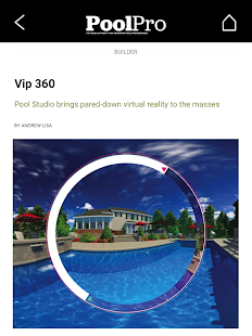 PoolPro Magazine- screenshot thumbnail