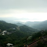scenery of Taiwan from Jiufen in Jiufen, T'ai-pei county, Taiwan