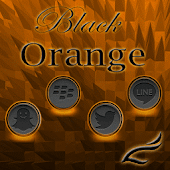 Black Orange Theme