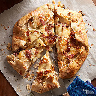 Bacon-Cheddar Apple Tart