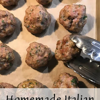 Homemade Italian Meatballs Recipe for a Crowd.